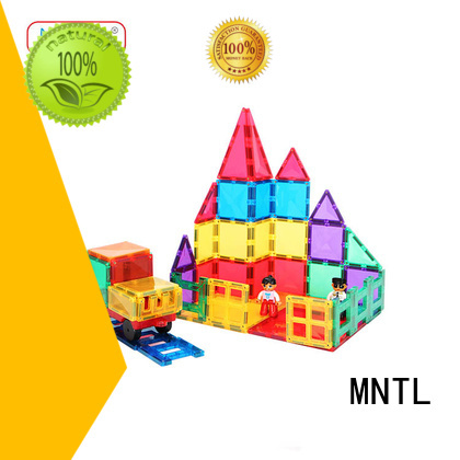 Breathable magnetic tiles rose red Best building block For Children