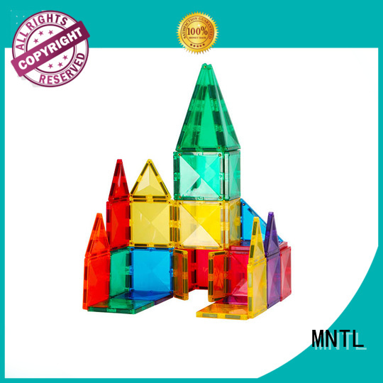 MNTL at discount Magnetic Building Tiles Magnetic Construction Toys For Children