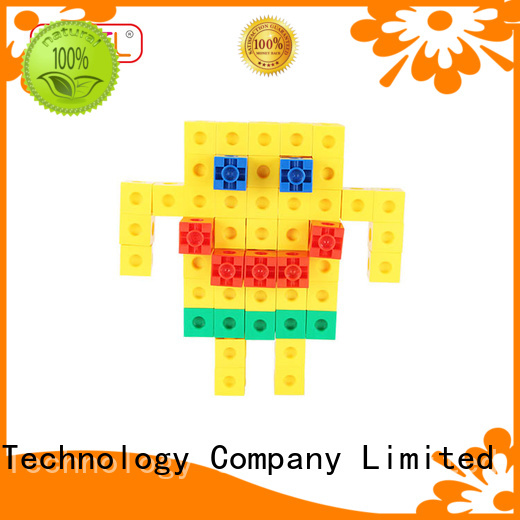 MNTL orange, plastic blocks toys strong magnet For Children