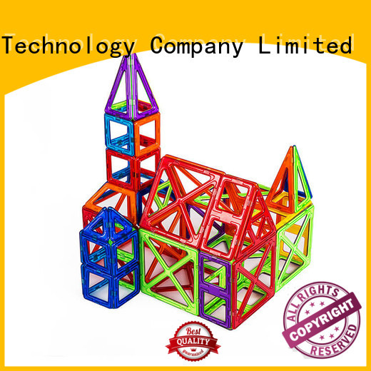 MNTL Newest Classic Magnetic Building Blocks purple For kids