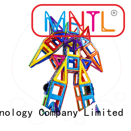 MNTL Red, magnetic blocks Magnetic Construction Toys For kids