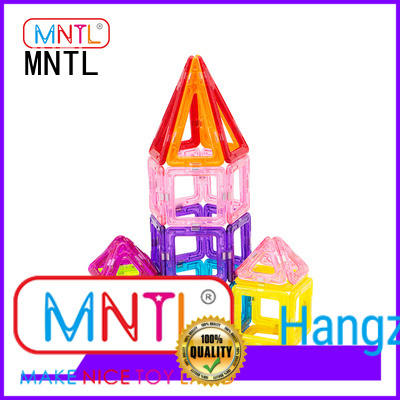 MNTL Best toy for children Mini Picasso magnetic tiles ODM For kids over 3 years