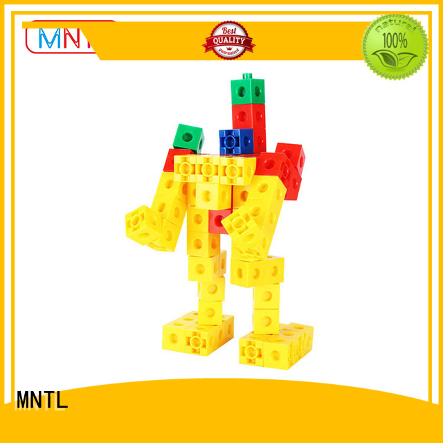 MNTL yellow, Plastic building toys ABS plastic For kids