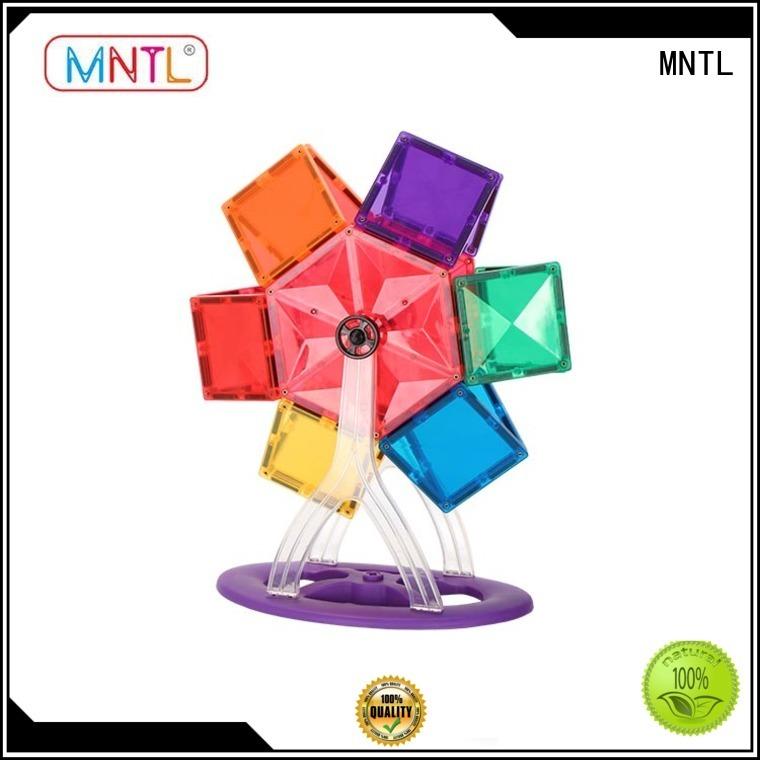 MNTL latest magnetic tiles Magnetic Construction Toys For Children