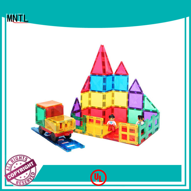 at discount magnetic tiles purple Magnetic Construction Toys For Children