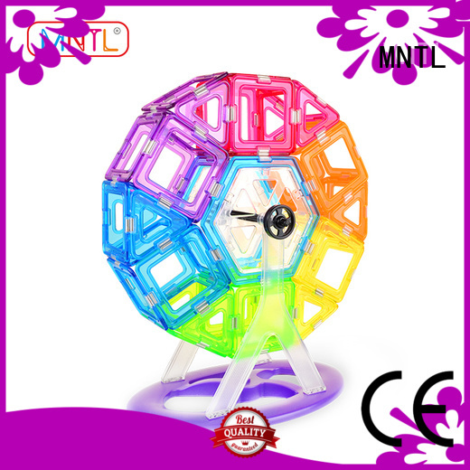 portable Crystal picasso tiles High quality customization For Children