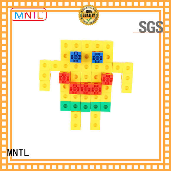 MNTL blue, plastic construction toys ABS plastic For Children