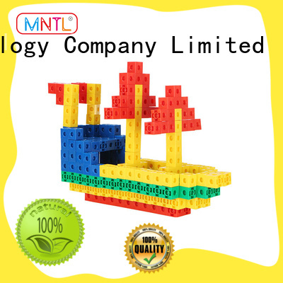 MNTL Inspirational plastic blocks toys yellow, For Children
