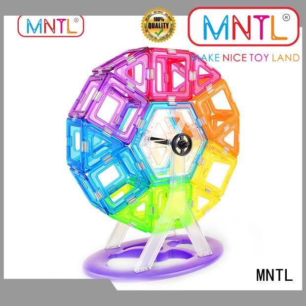 MNTL strong magnet Crystal Magnetic Building Blocks bulk production For Toddler