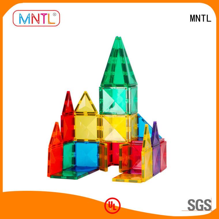 MNTL high-quality 3d magnetic tiles DIY For Children
