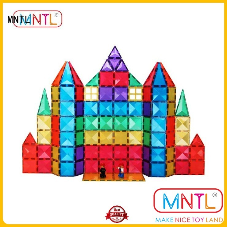 MNTL on-sale magnetic tiles DIY For 3 years old