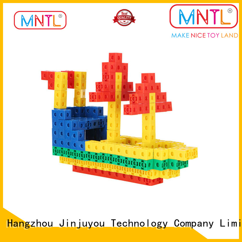 MNTL 300Pcs Kids Safety ABS Plastic Blocks Multi-color Educational Building Blocks Toys H8104