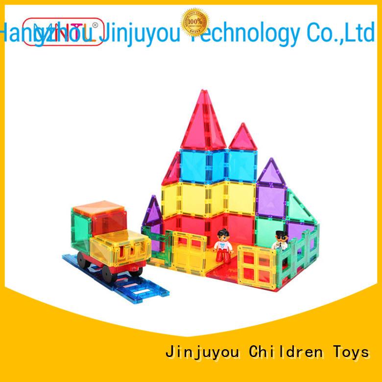MNTL Inspirational magnetic tiles for toddlers Magnetic Construction Toys For Children