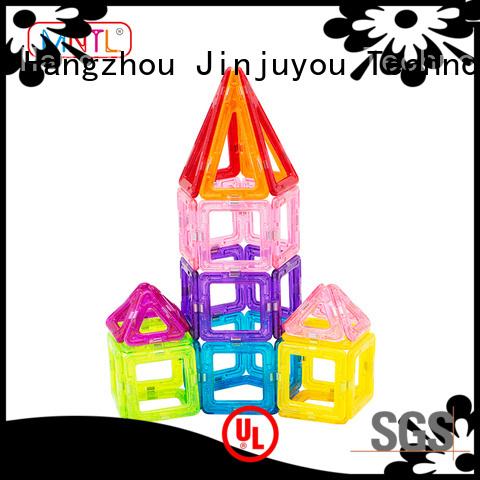 Best toy for children Mini magnetic tiles green, OEM For kids over 3 years