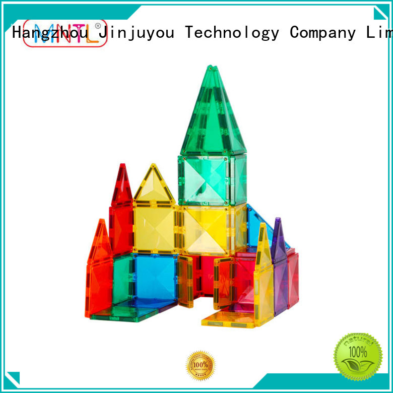 Breathable Magnetic Building Tiles blue, Magnetic Construction Toys For 3 years old