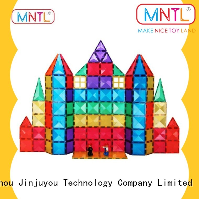 MNTL Breathable magnetic tiles High quality For kids