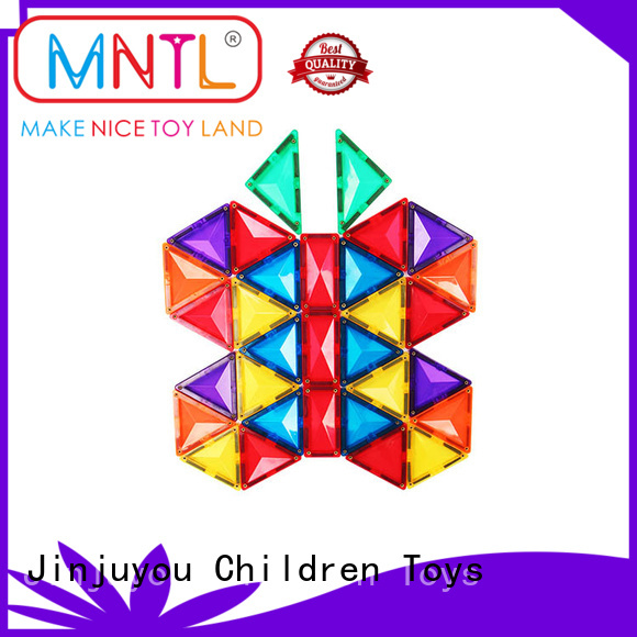 Breathable magnetic tiles ABS plastic Magnetic Construction Toys For kids