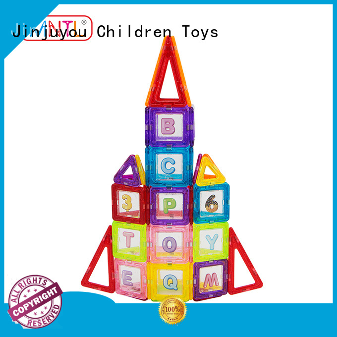 MNTL purple magnetic bricks customization For Children
