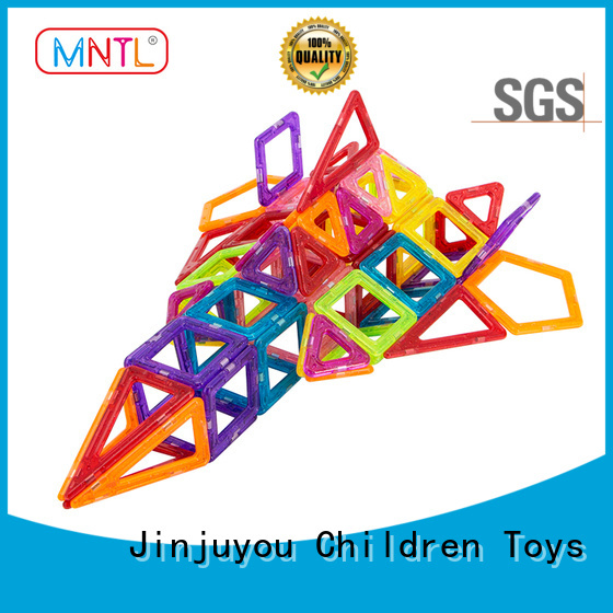 MNTL ABS plastic Mini magnetic tiles customization For kids over 3 years