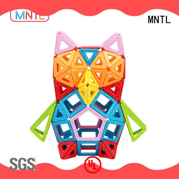 MNTL ABS plastic magnet toy blocks DIY For Toddler