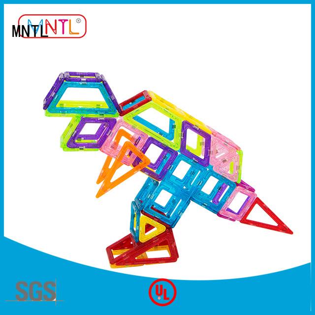 MNTL best magnetic toys Mini magnetic tiles free sample For Children