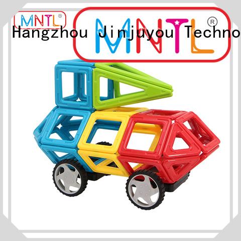 MNTL Newest Classic Magnetic Building Blocks deep blue, For Children