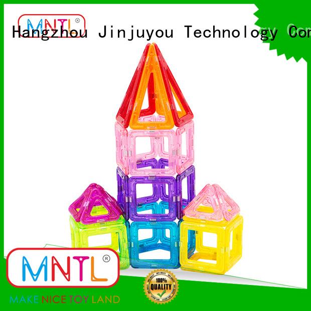 best magnetic toys Mini magnetic tiles ABS plastic bulk production For Children