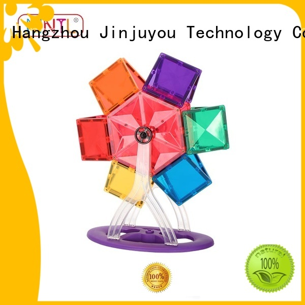 MNTL Breathable magnetic tiles Magnetic Construction Toys For Children