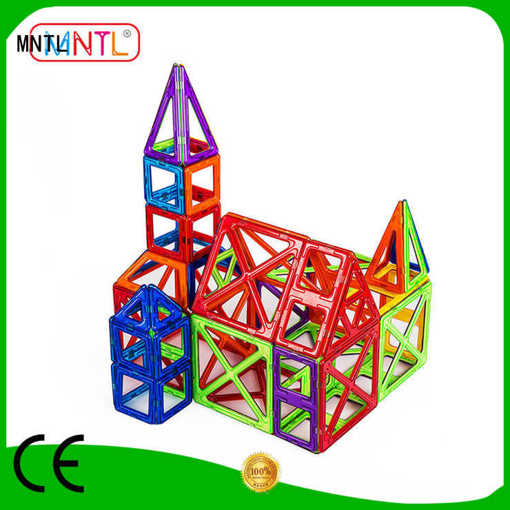 MNTL purple magnetic blocks Best building block For Toddler