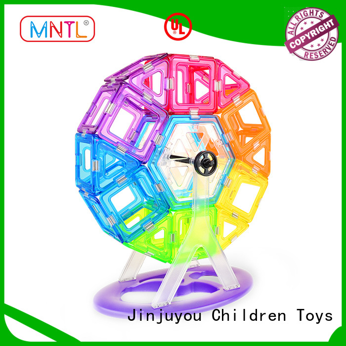 MNTL durable Crystal Magnetic Building Blocks customization For Toddler