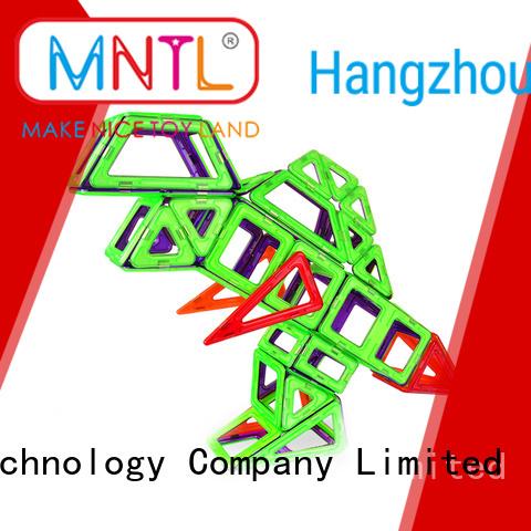 green, magnetic blocks Magnetic Construction Toys For kids MNTL