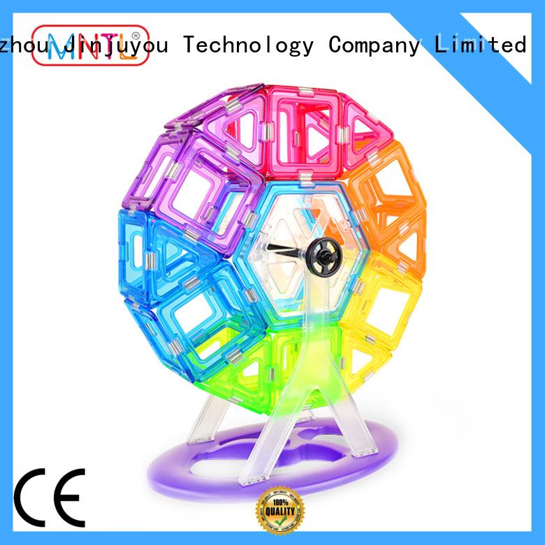 MNTL solid mesh Crystal magnetic toys OEM For Children