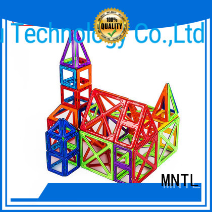 MNTL deep blue, magnetic blocks Magnetic Construction Toys For Toddler
