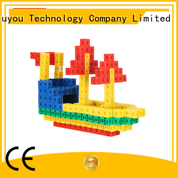 MNTL Inspirational toy building blocks plastic rose red For Children
