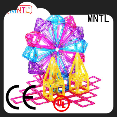 MNTL Conventional Crystal picasso tiles OEM For kids