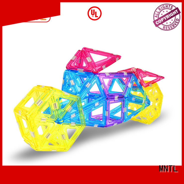 latest Crystal Magnetic Building Blocks Conventional customization For kids