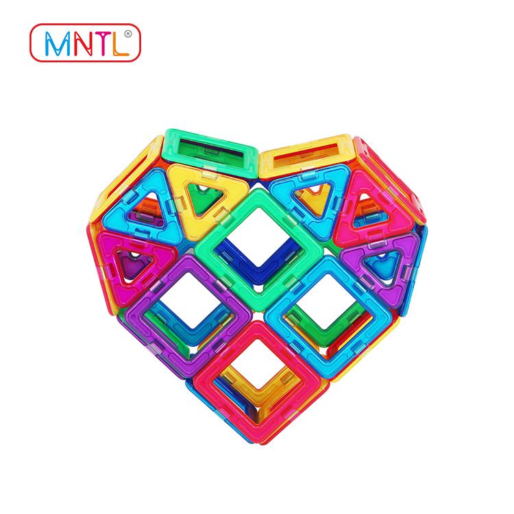 2019 magnet block toy deep blue, Best building block For Toddler-2