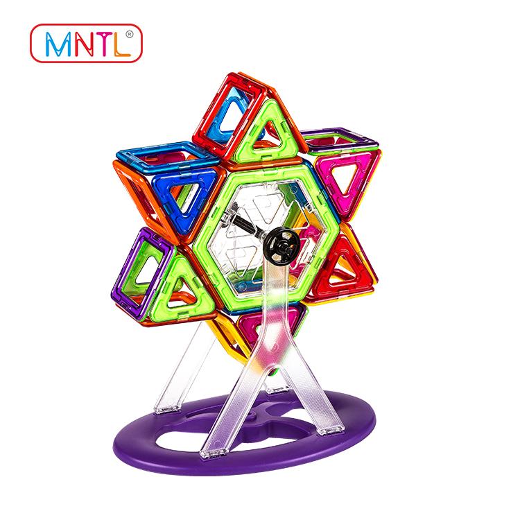 2019 magnet block toy deep blue, Best building block For Toddler-1