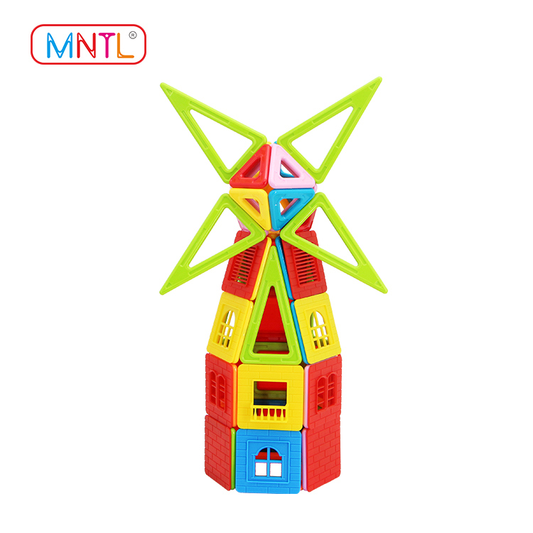 MNTL 76 Pcs Magnetic Blocks A8171 Sets Magnet Building Toys for Children
