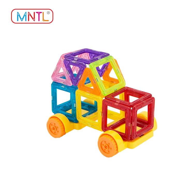 MNTL A8304 88PCS Mini Magnetic Tiles building blocks Set 3D Designer Educational Toys For Kids Gift