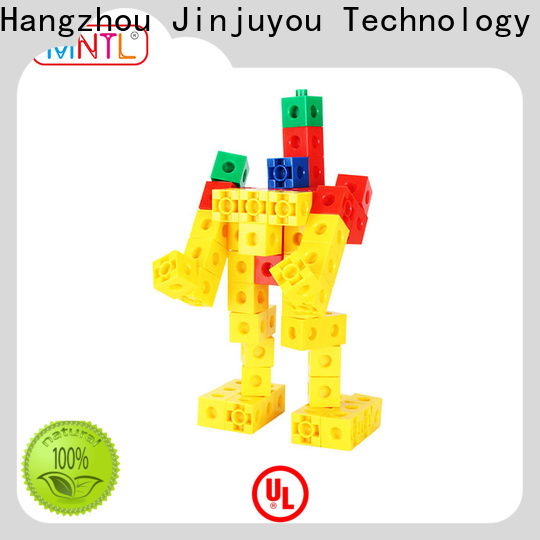 MNTL strong magnet plastic construction toys rose red For Children