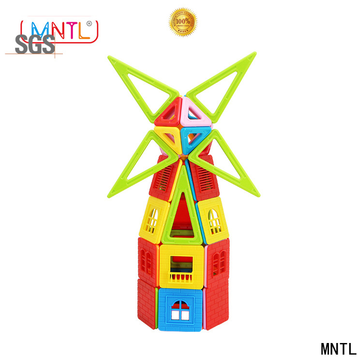MNTL Newest magnetic blocks toys DIY For kids