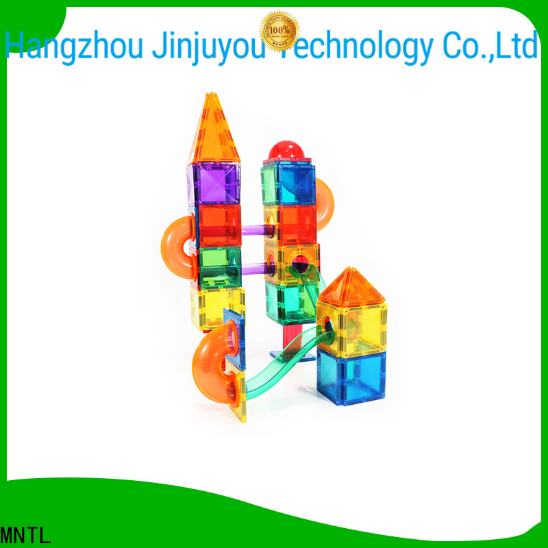 MNTL latest magnetic building tiles DIY For 3 years old