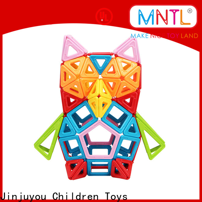 MNTL yellow, kids magnetic toy Magnetic Construction Toys For kids