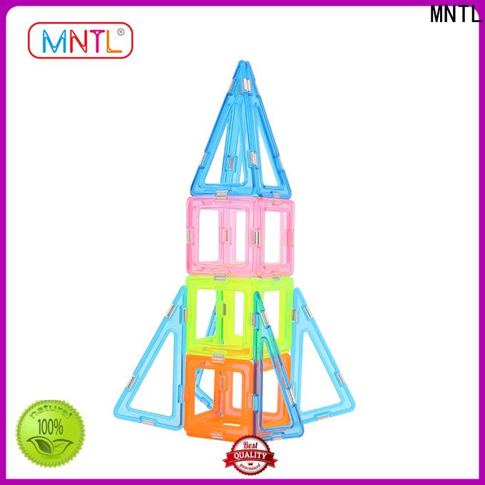 MNTL Conventional magnetic block set for wholesale For Children
