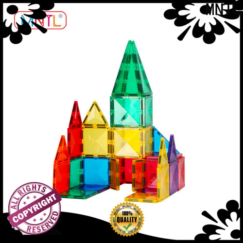 MNTL on-sale magnetic tile blocks Magnetic Construction Toys For Children