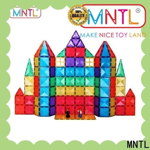 MNTL deep blue magnetic tile set Best Toys For Children