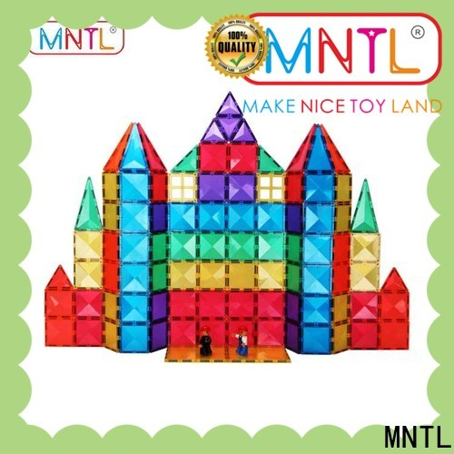 MNTL deep blue magnetic tile set Best Toys For Children