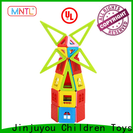 Hot building block magnetic construction toys ABS plastic Best Toys For Children