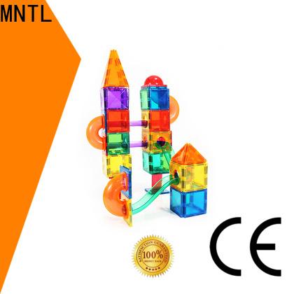 durable magnetic tile set orange, Best building block For Children